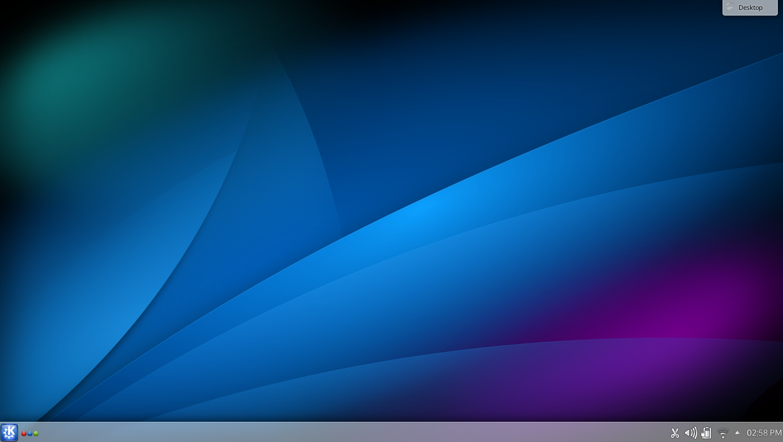 Área de Trabalho Plasma do KDE 4.11