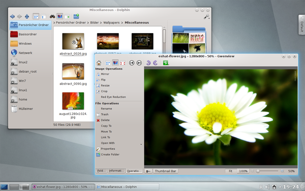 KDE Applications 4.8
