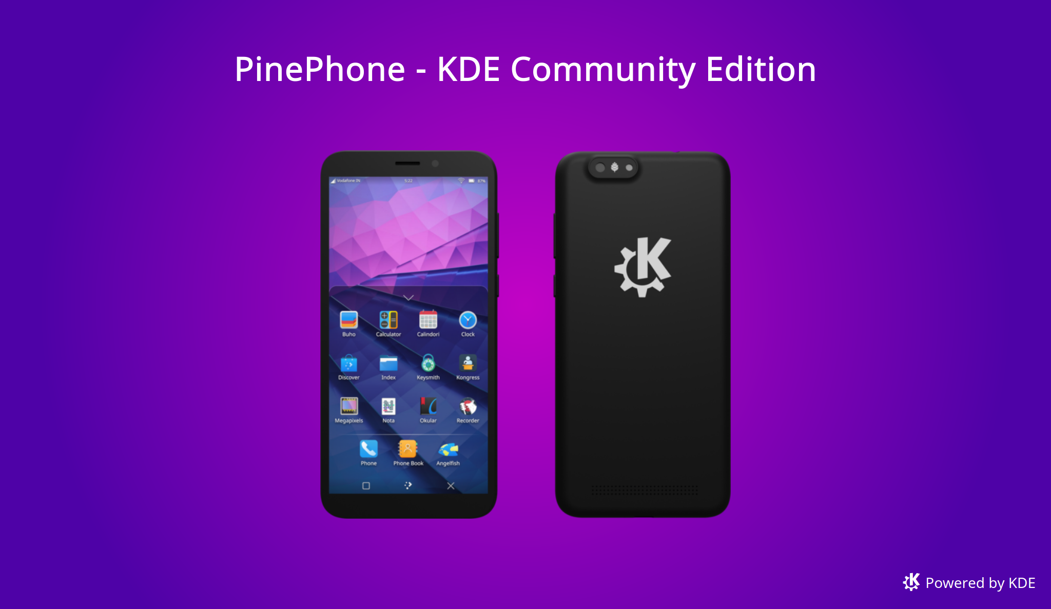 Pinephone KDE edition