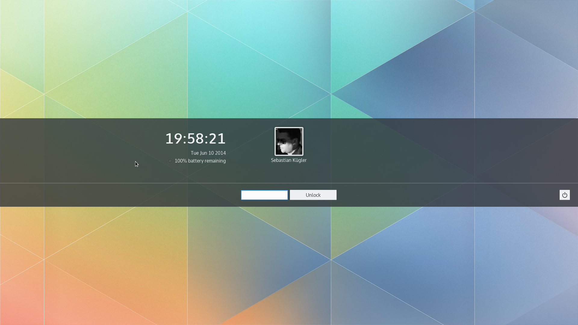 New lockscreen in Plasma 5