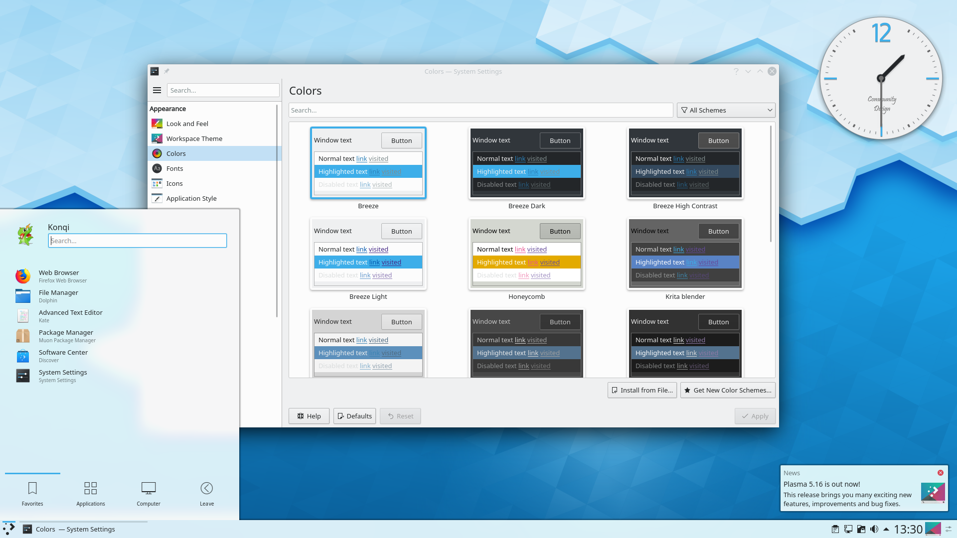 Image of Plasma 5.16