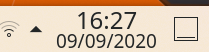 Clock now with date by default