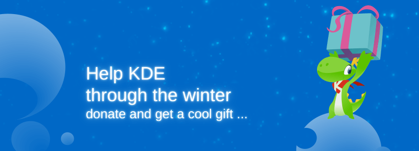 KDE winter fundraiser